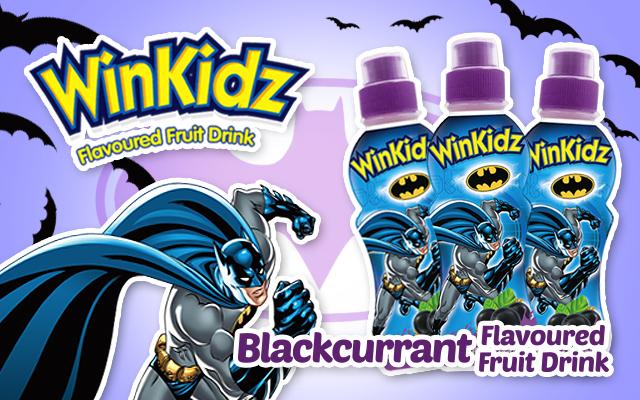 Batman Blackcurrant Dinks