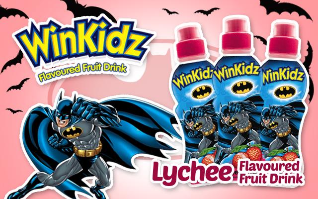 Batman Lychee Dinks