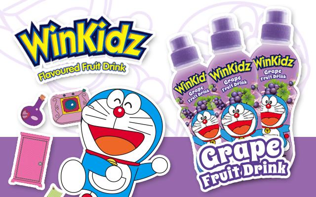 Doraemon Grape Dinks