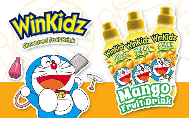 Doraemon Mango Dinks