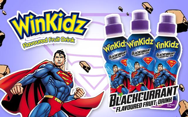 Superman Blackcurrant Dinks