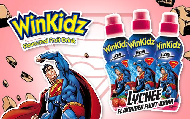 Superman Lychee Dinks